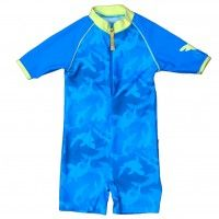Banz one-piece Sunsuit - Blue - 3m & 6+yrs only SALE