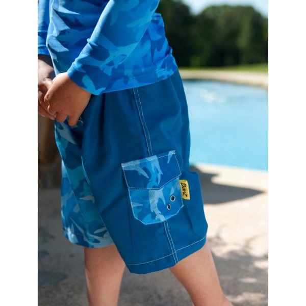 Banz UPF 50+ swim shorts Blue - 4yr & 6yr only - SALE