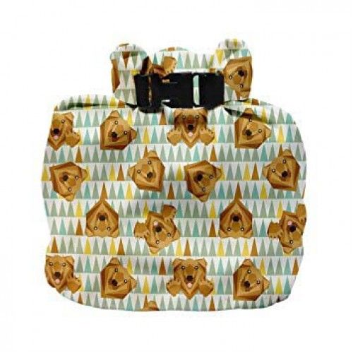 Bmbino Mio Wet Nappy Bag (Grizzly)