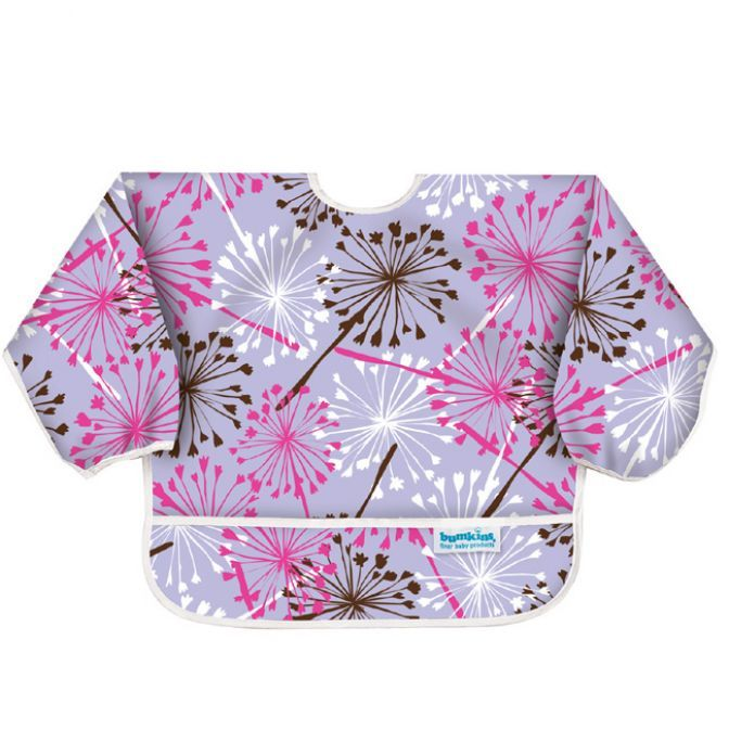 Bumkins Sleeved Bibs - Dandilion only - SALE