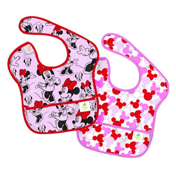Bumkins SuperBib 2 pack - Minnie Mouse - SALE
