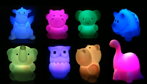 Celeste & Moon Animal Cordless Nightlights - SALE