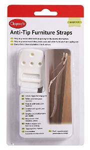 Clippasafe - Anti-Tip furniture straps