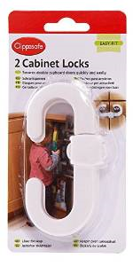 Clippasafe Cabinet Locks (2 Pack)