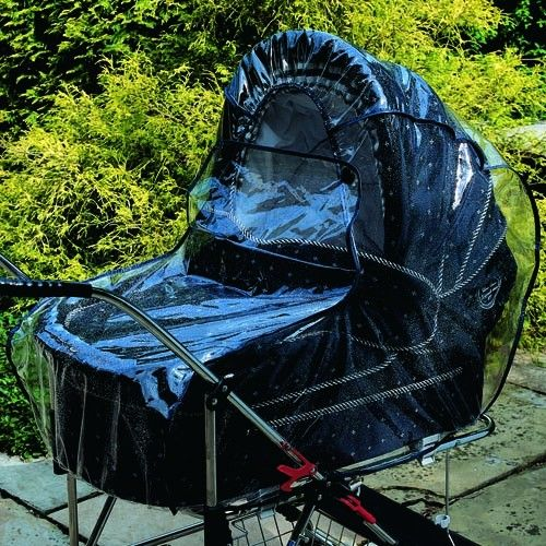 Clippasafe Pram & Carrycot Universal Rain Cover - MEDIUM