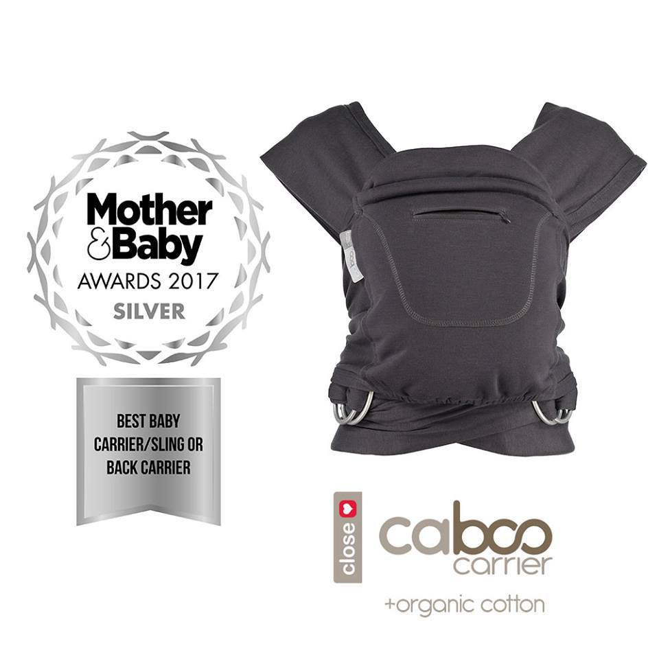 Close Caboo Organic Multi Position Baby Carrier