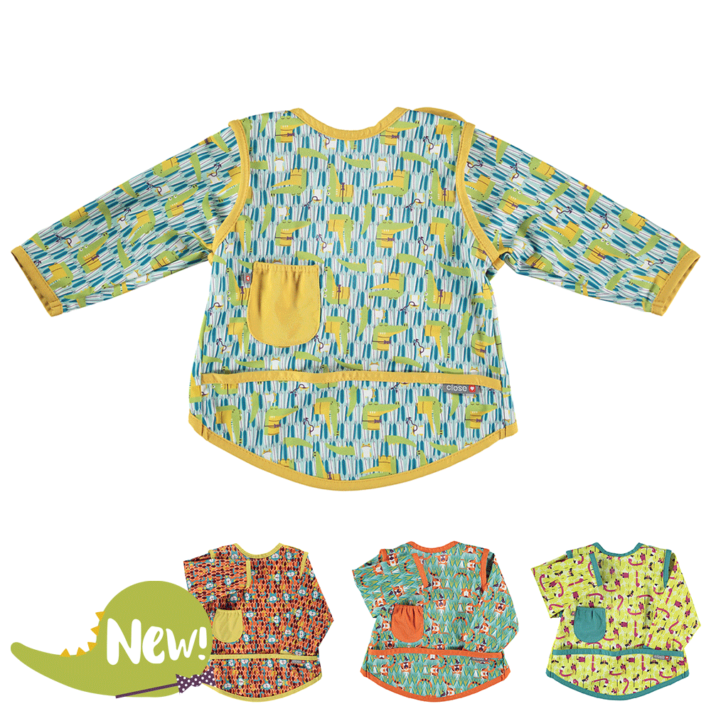 Close Pop-in Coverall Bib Stage 4 (18-36 months) - NEW Designs