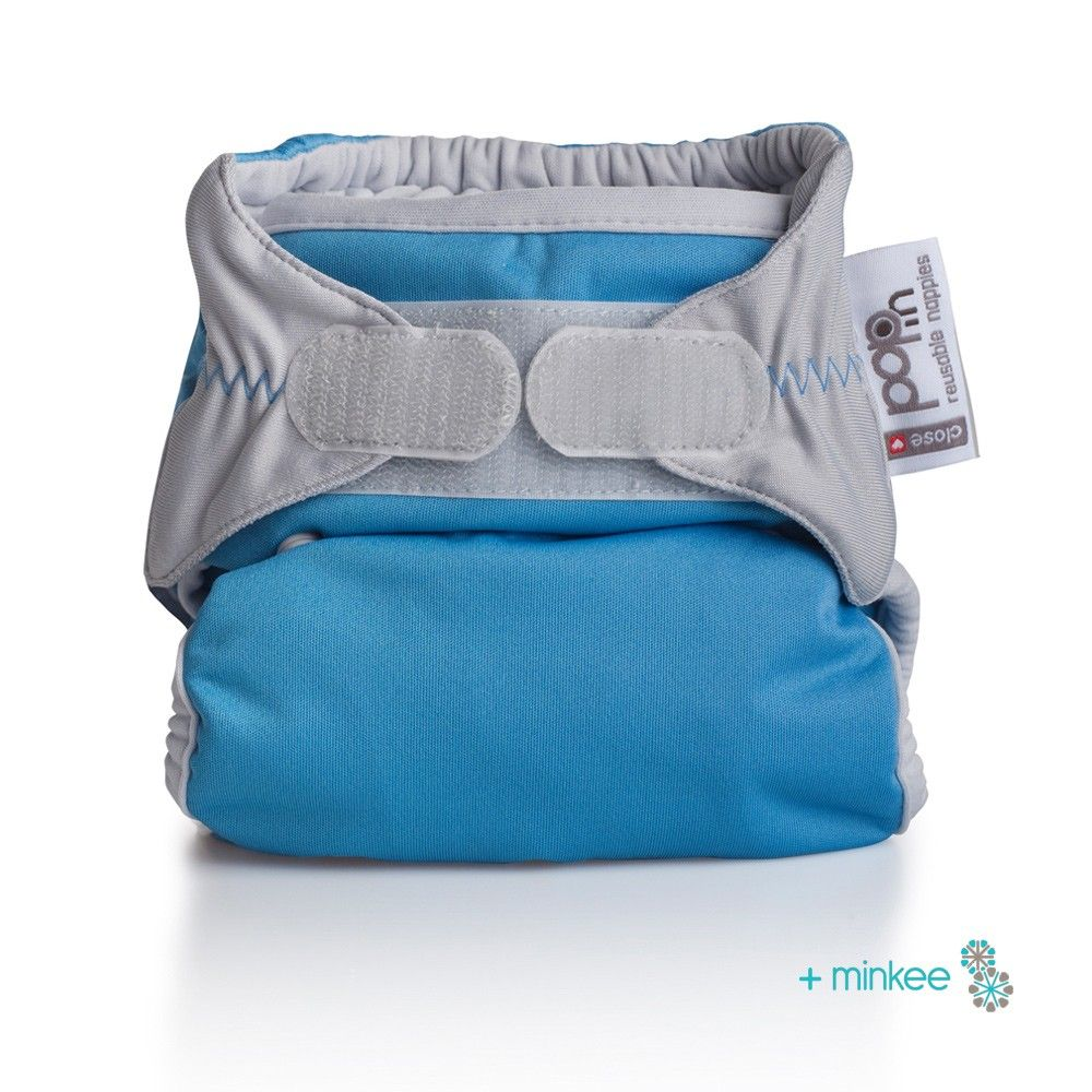Close Pop-in New Gen V2 Single Nappy +minkee - 4 Colour Options