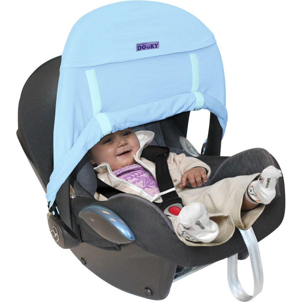 Dooky Zero+ Infant car seat shade - Blue Only- SALE