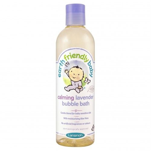 Earth Friendly Baby Calming Lavender Bubble Bath 370ml