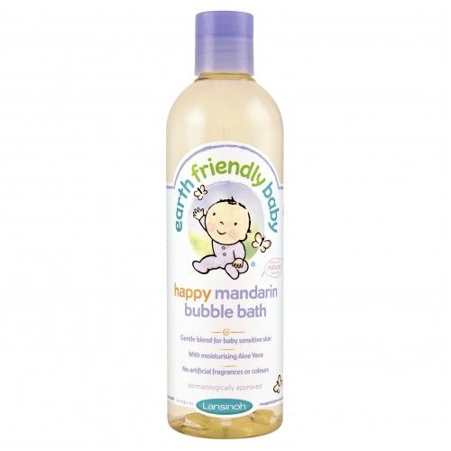 Earth Friendly Baby Mandarin Bubble Bath 370ml
