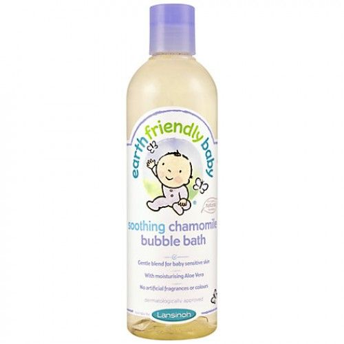 Earth Friendly Baby Soothing Chamomile Bubble Bath 370ml
