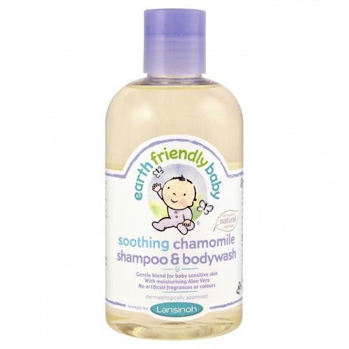 Earth Friendly Baby Soothing Chamomile Shampoo & Bodywash 251ml