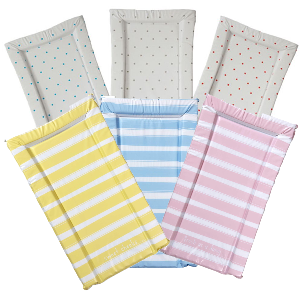 East Coast - The Essentials Range of Change Mats (Spots or Stripes)