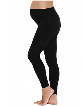 Funmum Black Maternity Leggings