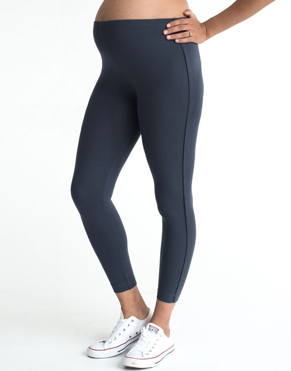 FunMum Thick Maternity Leggings (Grey) - SALE