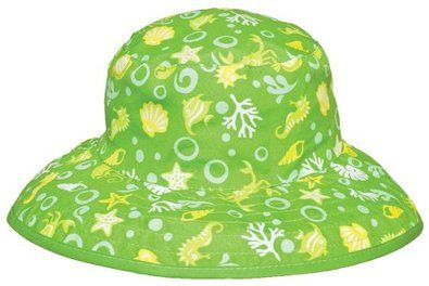 Kidz Banz Reversible Sun Hats - 2-5yrs - Lime - SALE