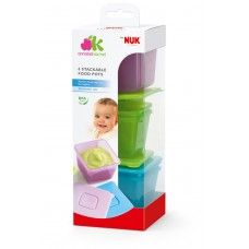 NUK Annabel Karmel Stackable Food Pots (x6)