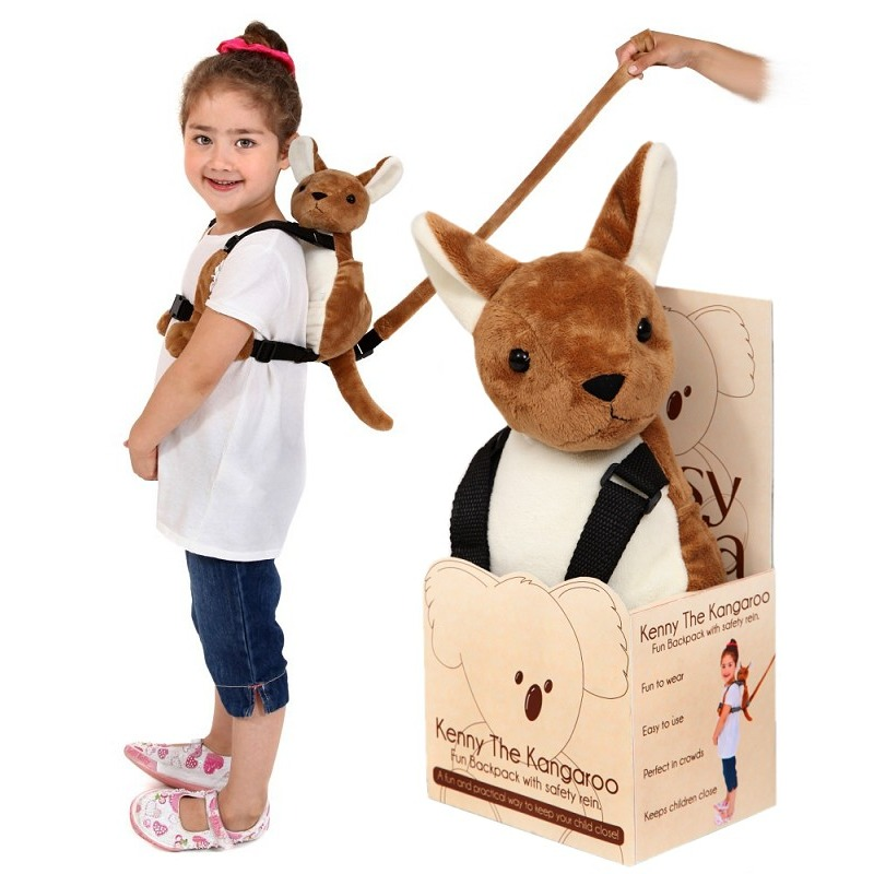 Pipsy Koala Kenny The Kangaroo Backpack Harness & Rein