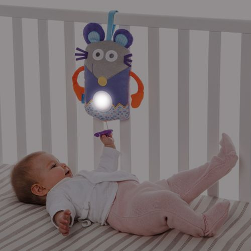Taf Toys Musical Sleepy Toy & Light - Donkey, Mouse or Owl