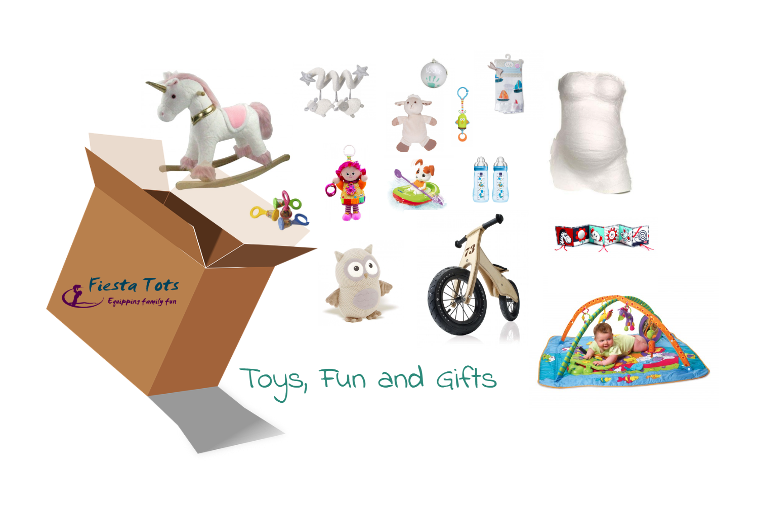 Toys, gifts and fun items